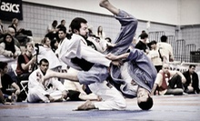 10 or 20 Brazilian Jiu-Jitsu Classes at Gracie Barra El Paso (Up to 76% Off)