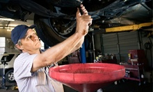Oil-Change Packages at Carney Tire and Car Care Center (Up to 76% Off). Three Options Available.
