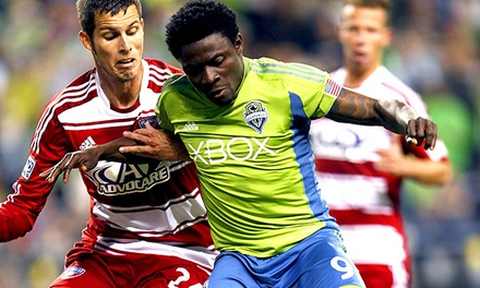 $30 for Seattle Sounders FC Game v. FC Dallas at CenturyLink Field on Wednesday, May 7 with Xbox Scarf ($67.28 Value)