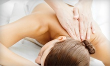 Chiropractic Exam and Massage with Option for Adjustment at South Bay Wellness Center (Up to 86% Off)