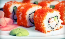 Sushi and Pan-Asian Cuisine at Fujo Bistro (Half Off). Two Options Available.