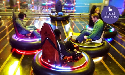 Krazy Kars, Bumper Cars, Mini Golf, and Rock Wall for Two or Four at Arnold's Family Fun Center (Up to 53% Off)