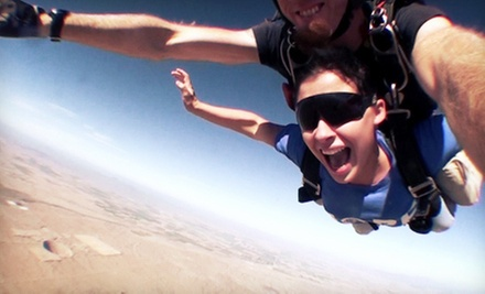 $139 for a Tandem-Skydiving Adventure with T-Shirt at Phoenix Area Skydiving (Up to $299 Value)