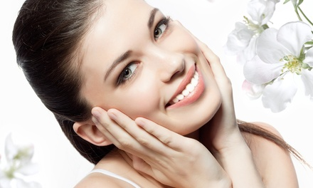 One or Two In-Office Teeth-Whitening Sessions with Neck Wrap and Foot Detox at Mobile Whites (Up to 85% Off)