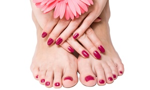 Shellac Mani or Signature Pedi