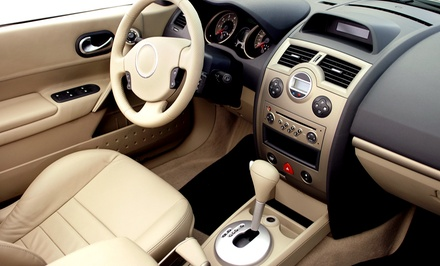 Interior-Exterior Detail for Vehicle Up to Midsize or Full-Size SUV at Rio Rancho Glass and Tint (Up to 50% Off)