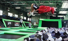 Two Hours of Trampoline-Park Open-Jump Time for One or Two at Absolute Air Park (Up to 53% Off)