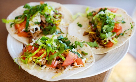 $7 for $15 Worth of Mexican Cuisine at Mexico Lindo