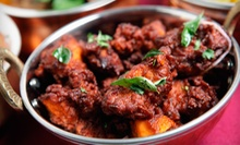 Indian Cuisine and Drinks at Viceroy of India (60% Off). Two Options Available.