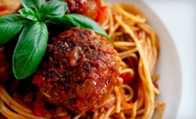 $10 for $20 Worth of Italian Cuisine at Twisted Italian