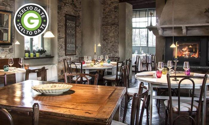 ALLA CORTE LOMBARDA - Alla Corte Lombarda: Menu gourmet a scelta e vino al ristorante Alla Corte Lombarda da 39,90 €