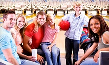 $25 for Two Hours of Bowling for Five with Shoes, Pizza, and Drinks at Rockford-Area Bowling Centers (Up to $68 Value)