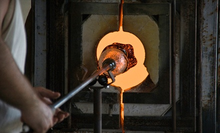 Two-Hour Intermediate Glass-Blowing Class for One or Two at Santa Barbara Art Glass (Up to 74% Off)