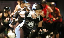 $16 for No Coast Derby Girls Roller Derby Bout for Two at Pershing Center ($38.40 Value). Four Dates Available.