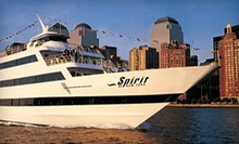 "Three-Hour Dinner Cruise on the ""Spirit of New York"" (Up to 40% Off). Three Options Available."