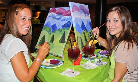 Washington DC: Two-Hour Social Painting Event from Paint Nite (Up to 46% Off)
