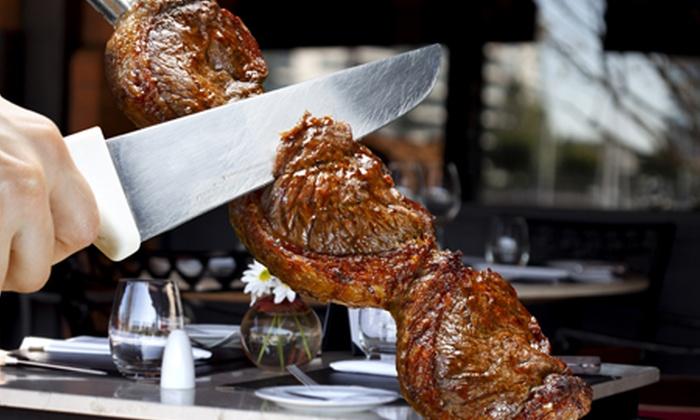 Boi Na Brasa - BOI NA BRASA: Menu brasiliano per 2 persone con carne all you can eat a 29 €