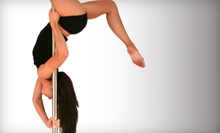 Pole, Aerial-Silks, Aerial-Hoop, or Adult-Dance Classes at Femme Fatale Fitness (Up to 67% Off). Two Options Available.