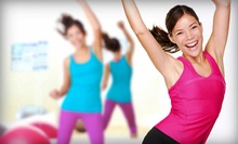 10 or 20 BodyPump, Zumba, or Power Fitness Classes at TX Training Center (Up to 63% Off)