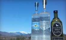 $27 for a Complimentary Distillery Tour for Two with T-Shirts and Gift-Shop Credit at Maine Distilleries ($56.98 Value)