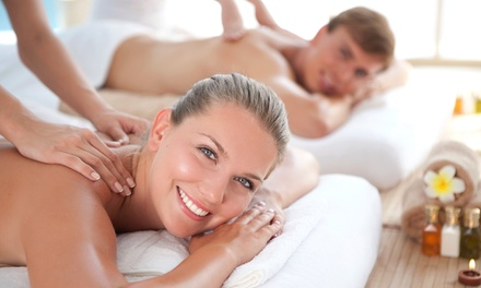 Couples Massage, Swedish Massage, or Massage, Facial, and Pedicure at A New Day Spa (Up to 57% Off)