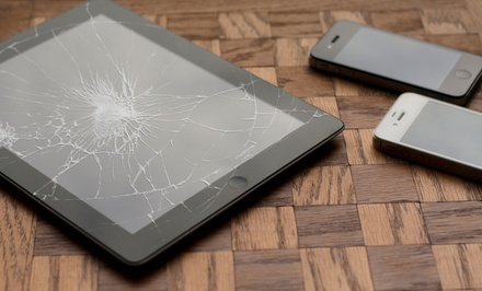 Cell-Phone or iPad Repairs or Products at iRepair Smartphones (Up to 57% Off). Seven Options Available.