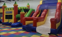One Weekday or Weekend Open-Jump Session for Up to Four with a $5 Credit for Concessions at Bouncers (52% Off)