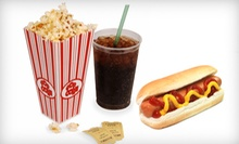 Movie Outing with a Hot Dog and All-You-Can-Eat Popcorn and Drinks for Two or Four at UltraStar Cinemas (Up to 41% Off)