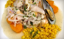 $10 for $20 Worth of Peruvian Food at The Lemon Tree Restaurant