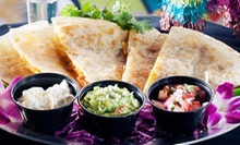 Mexican Street Food at Calle Tacos (53% Off). Two Options Available.