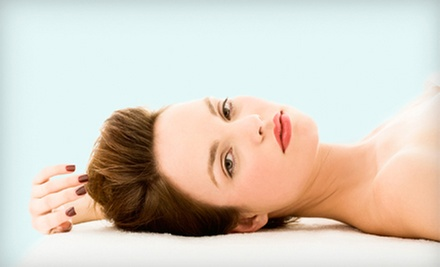 One-Hour Swedish Massage, One Spa Mani-Pedi, or Both at Suesies Salon (Up to 54% Off)