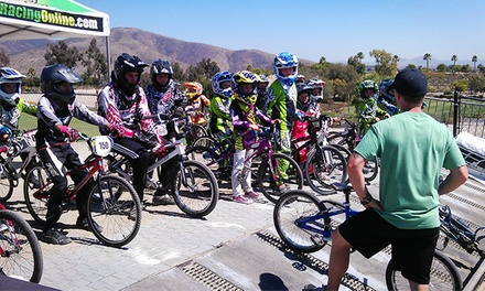 Two or Five BMX Clinics with Bike Rentals at Chula Vista BMX (Up to 53% Off)