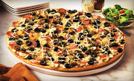 10 or 20 $5 Punch Cards for Pizza at Papa Murphy's Take 'N' Bake Pizza (Up to 51% Off)