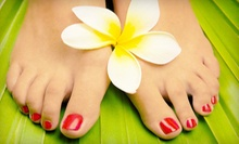 Mani-Pedi with Optional Hot-Stone Foot Massage at Vanity SpaSalon (Up to 69% Off)