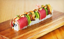 Sushi and Pan-Asian Lunch Cuisine at SushiBar (Half Off). Two Options Available.