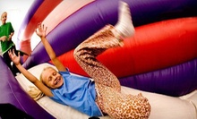 Two Open-Bounce or Pre-K & Play Sessions or One Glow-In-the-Dark Party for Up to 10 at BounceU (Up to 53% Off)