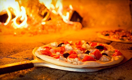 $10 for $20 for 2 People, $20 for $40 for 4 People, or 3 Vouchers, Each Good for One Lunch Special at Open Fire Pizza