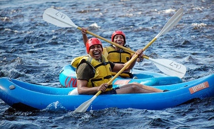 Three Hours of Whitewater Rafting with Gear for Two, Four, or Six from Crab Apple Whitewater (Up to 54% Off)