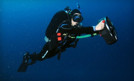 PADI Open Water Diver Course with Option for Two Underwater Scooter Dives at Beach Cities Scuba (Up to 71% Off)