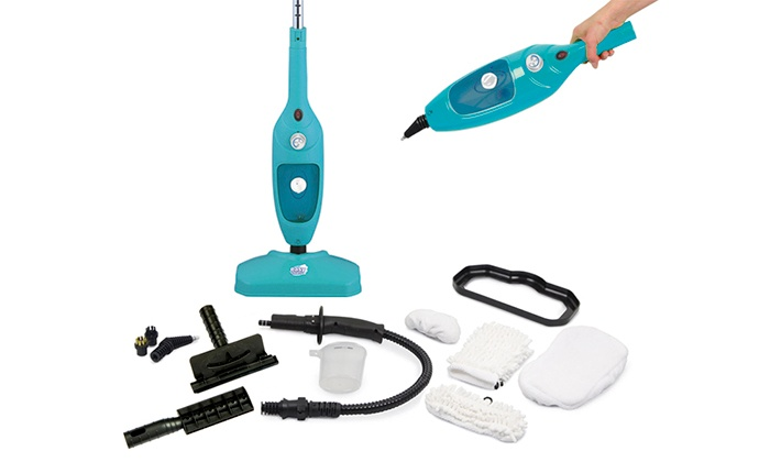 Groupon Goods Global GmbH: 5-in-1 Steam Mop for £49.99 With Free Delivery (62% Off)