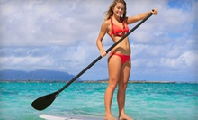 One- or Two-Hour Paddleboard Rental from On the Beach Watersports (Up to 64% Off)