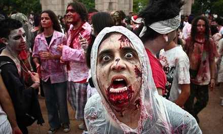 Zombie Run Buffalo Entry for One or Two on Saturday, October 18, Including T-Shirt and Beer (Up to 64% Off)