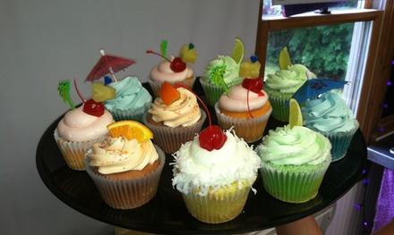 1.5-Dozen, One Dozen, or Two Dozen Assorted Cupcakes at Sugar Plum Bakery (Up to 52% Off)