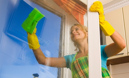 Interior and Exterior Window Cleaning for Up to 15 or 30 Window Panes from Speedy Windows (50% Off)