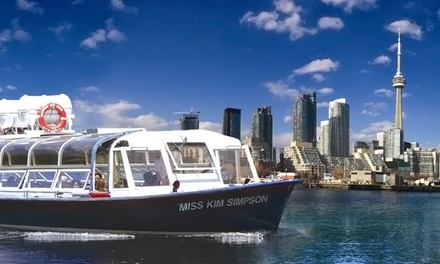 $11 for Boat Tour of Toronto Harbour and Islands from Toronto Harbour Tours (Up to $28.20 Value)