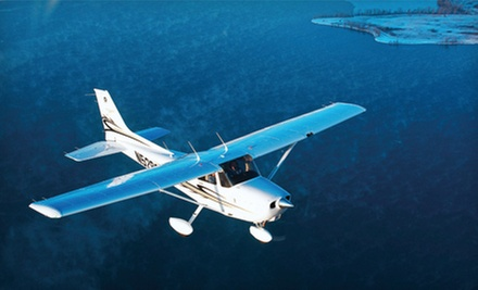 Downtown Adventure Flight with One or Two Hours of Ground School from Chicago Executive Flight School (Up to 51% Off)