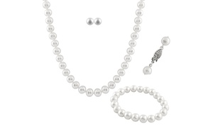 3-piece Freshwater Pearl Jewelry Set