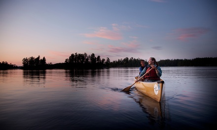 Four-Day Canoe Trip for Two or Four from Voyageur Canoe Outfitters (Up to 54% Off)