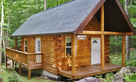 groupon daily deal - 2-Night Stay at Mountain Creek Cabins in Bruceton Mills, WV. Combine Up to 4 Nights.