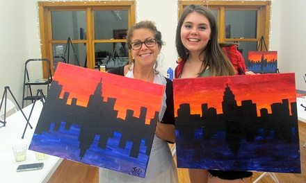 Two-Hour BYOB Painting Class for One, Two, or Four Including Supplies at The Paint Place (Up to 58% Off)